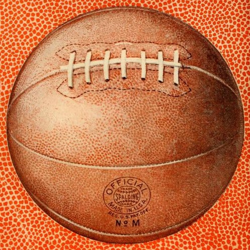 Spalding Basketball 1922 (public domain)