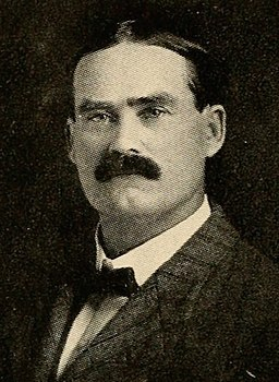 1905 image of Dr. James Naismith from Spalding's official collegiate basketball guide (public domain)