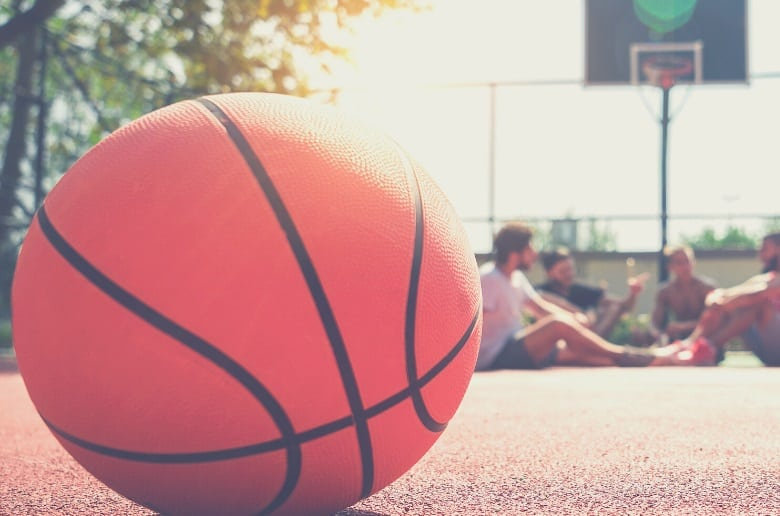 Best Basketball for Outdoors: basketball in the park