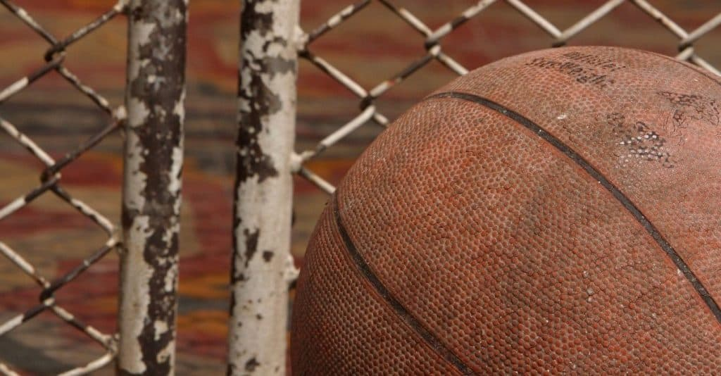 how to clean your basketball: dirty basketball